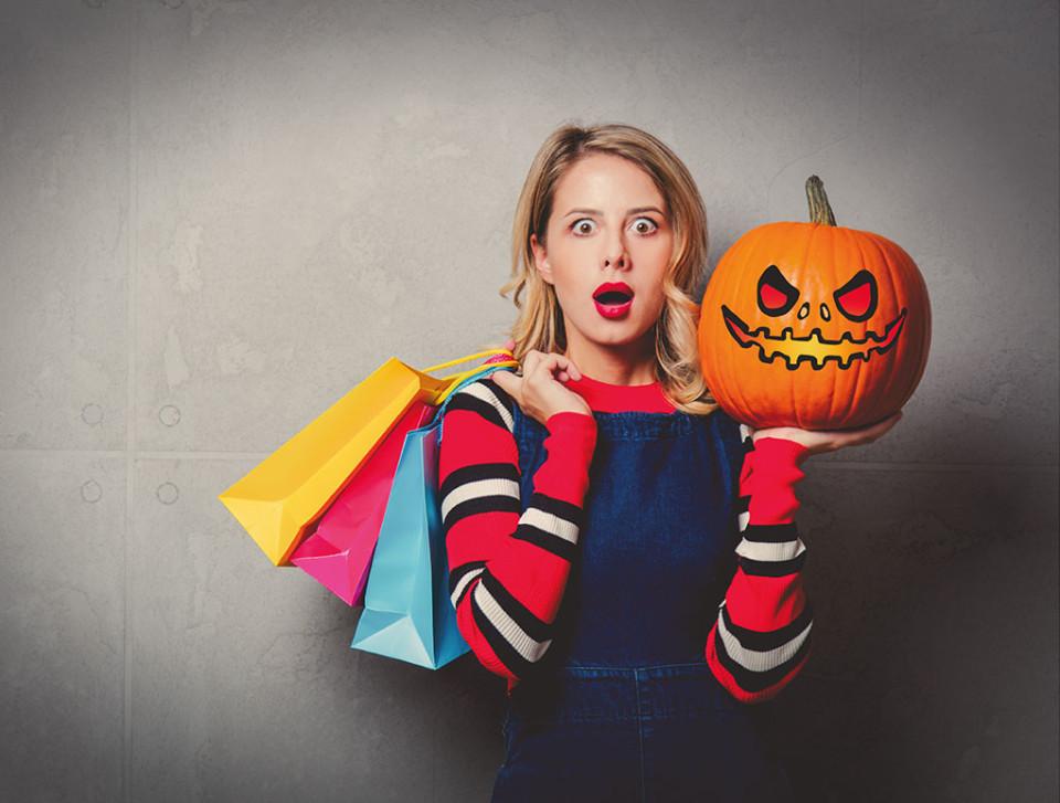 Gratis Shoppen met Halloween